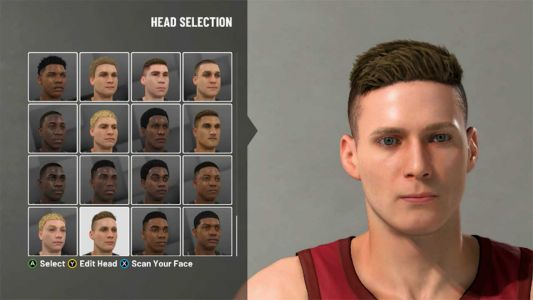 NBA 2K19 How to Face Scan
