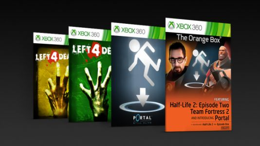 Half-Life 2: The Orange Box, Portal: Still Alive, Left 4 Dead 1 & 2 now enhanced for Xbox One X