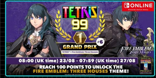 Tetris 99 Gets Fire Emblem Three Houses Maximus Cup Event