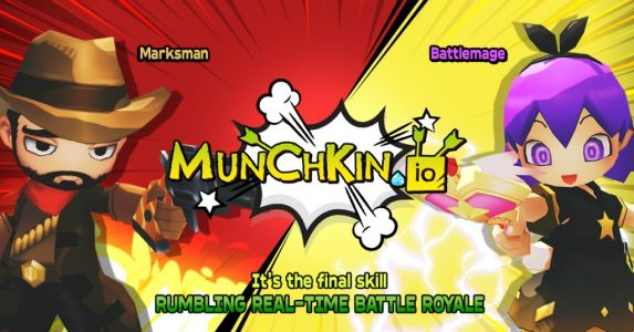 Munchkin.io is a battle royale shooter built from the ground up for mobile