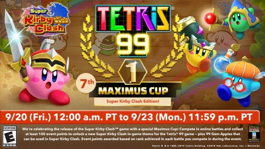 SwitchArcade Round-Up: The Next 'Tetris 99' Event Revealed, 'Castle Crashers Remastered' and Today's Other New Releases, SEGA Games on Sale, and More