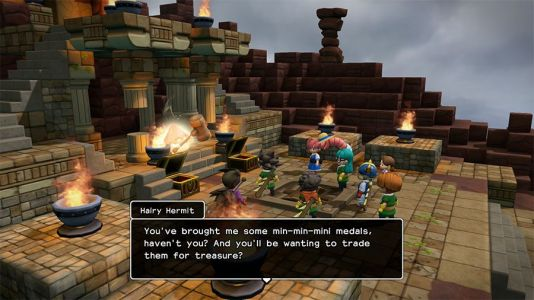 Where To Trade Mini Medals In Dragon Quest Builders 2