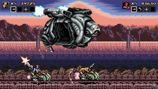 Blazing Chrome Bringing Classic Shooter Action To Switch July 11