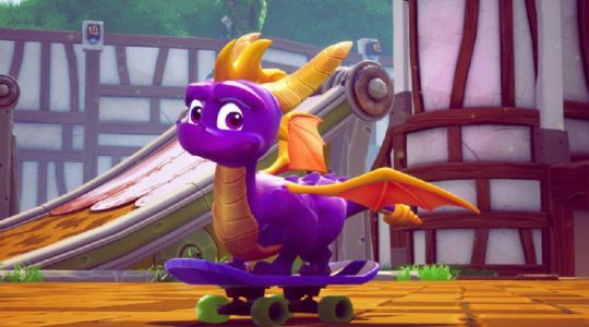 Spyro Reignited Trilogy burns Red Dead Redemption 2 to top the UK Charts