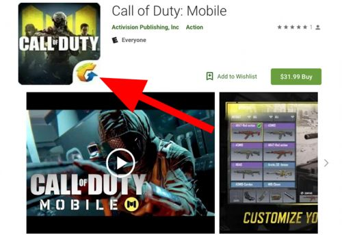Don't fall for this scammy $32 'Call of Duty: Mobile' game listing on the Play Store