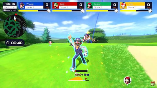 Mario Golf: Super Rush Characters Tee Off in Latest Trailer