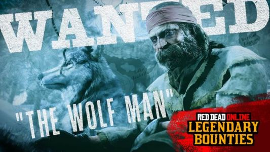 The Wolf Man Legendary Bounty Coming to Red Dead Online