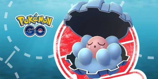 Pokemon Go Limited Research event this weekend stars Water-type Clamperl