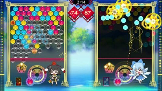 Taito Announces Touhou Spell Bubble for Switch