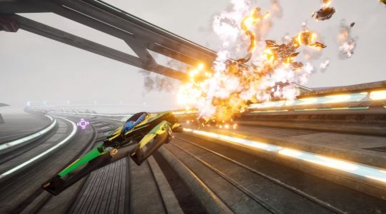Another WipEout-looking futuristic racer is coming next month