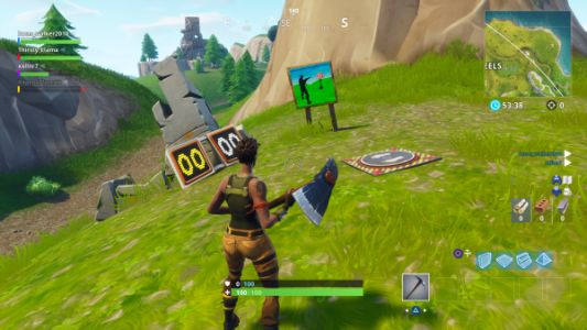 Fortnite: Shooting Gallery locations