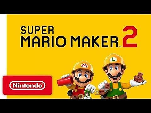 Super Mario Maker 2 Revealed During Nintendo Direct