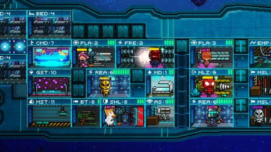 Pixel Starships is a massive multiplayer space game with limitless possibilities
