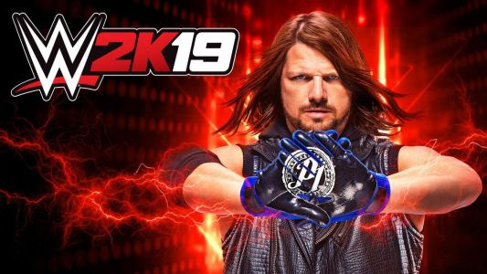 AJ Styles Makes The Cover for WWE 2K19