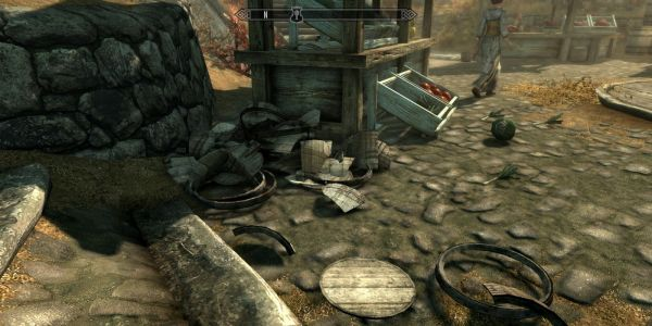 New Skyrim Mod Lets Players Destroy Objects | Game Rant