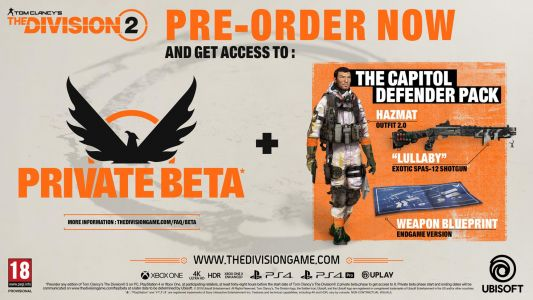 The Division 2 Gold and Ultimate Edition owners can play 3 days early, pre-order details revealed