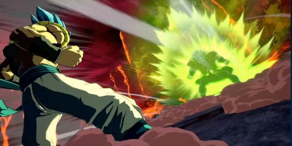 Dragon Ball FighterZ Features Epic Finish Between Gogeta and Broly