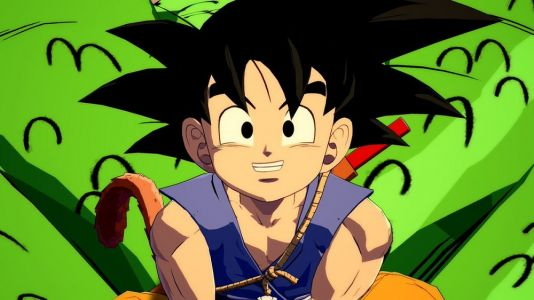 Kid Goku brings overwhelming power to Dragon Ball FighterZ next month