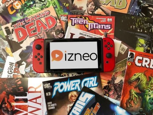 Izneo for Nintendo Switch: Everything you need to know