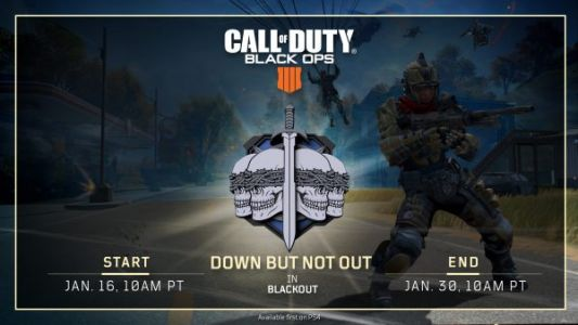 Black Ops 4: Blackout - new Down But Not Out LTM for PS4