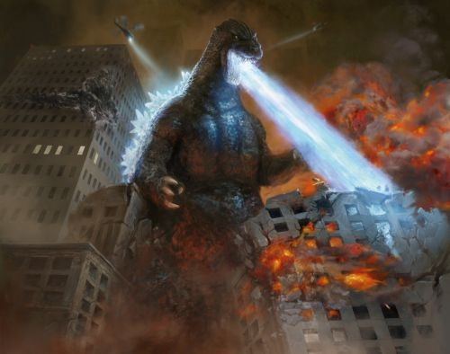 Oh my Godzilla.the King of Monsters is invading Magic: The Gathering
