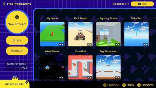 Game Builder Garage for Nintendo Switch: Everything you need to know