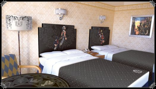 Tokyo Disneyland Gets Kingdom Hearts-Themed Hotel Rooms