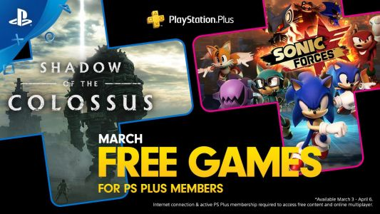PlayStation Plus Games for March 2020 Announced