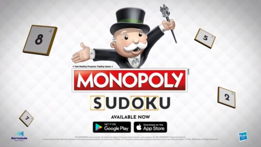 Monopoly Sudoku is the latest release from Marmalade Game Studio