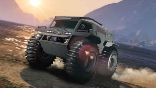 GTA Online adds a ridiculous off-road vehicle and New Year bonus events