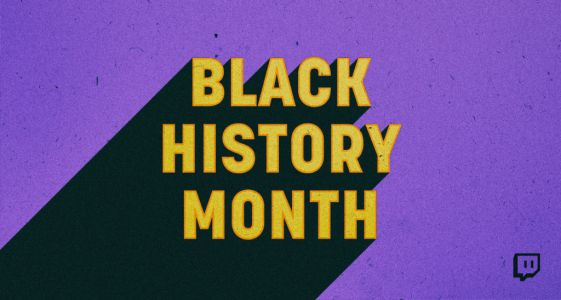 Celebrate Black History Month on Twitch