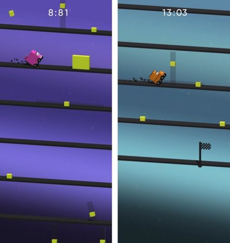 Cuby Cars is an addictive arcade game with an ingenious twist