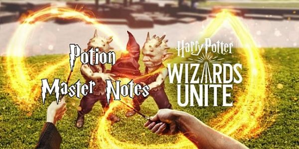 Harry Potter Wizards Unite Master Notes For All Potions