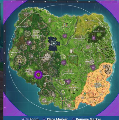 Fortnite Season 6: Visit all of the Corrupted Areas