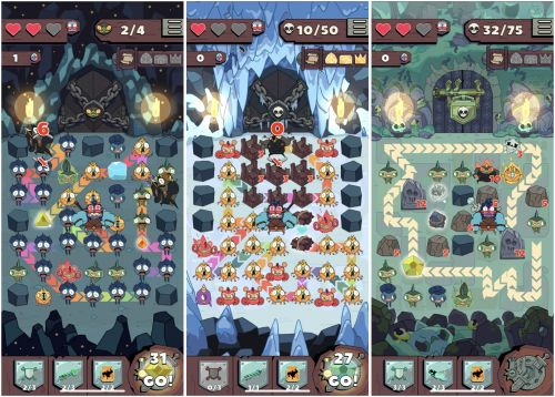Apple Arcade: 'Grindstone' Review - Not So Grindy, Actually