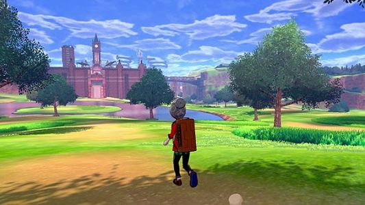 """'The Wild Area' in Pokémon Sword & Shield is about """"two regions from Breath Of The Wild"""" according to a rep from The Pokémon Company"""