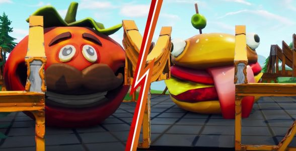 Who will be the last burger standing in Fortnite Food Fight?