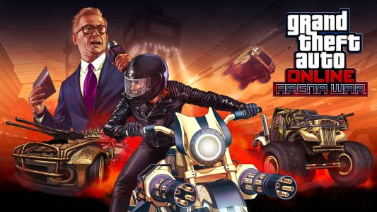 "Grand Theft Auto Online ""Arena War"" Update Brings New Competitive Modes"