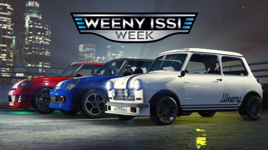 Weeny Issi-Themed Rewards Coming to GTA Online This Week