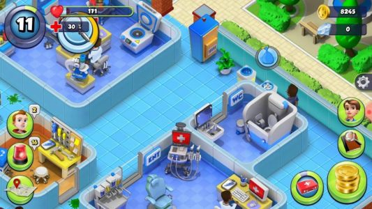 Dream Hospital Review - Theme Hospital on mobile?