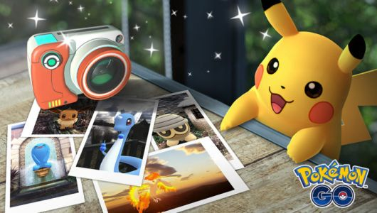 Pokémon GO gains AR-based snapshot mode that lets you pose with Pikachu