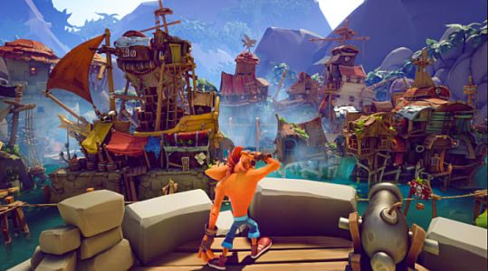 Crash 4 Gameplay Footage Shows Off Huge Levels, New Features