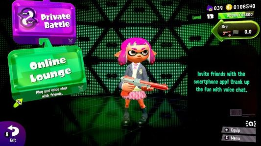 Nintendo to cease support for Splatoon 2's Online Lounge feature