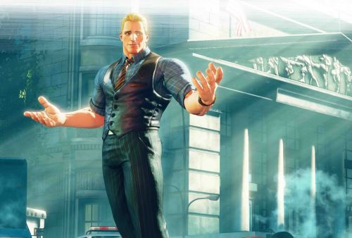 Cody looks thicc in Street Fighter V: Arcade Edition
