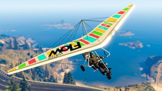 Play GTA Online this week and you'll be handed the Nagasaki Ultralight for free
