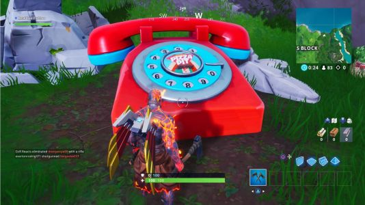 Fortnite: Visit an Oversized Phone, Giant Piano, and a Dancing Fish
