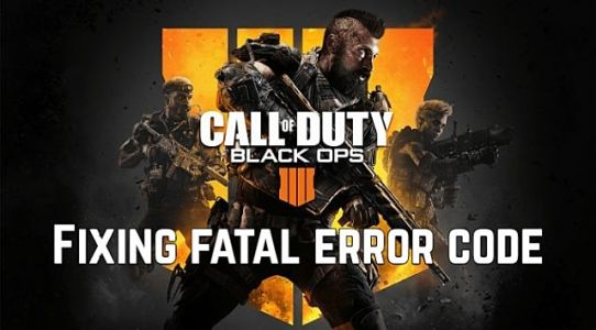 Call Of Duty Black Ops 4 Guide: Fixing Fatal Error Code 897625509