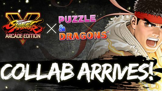 Your Favorite Stree Fighter V Characters Are Invading Puzzle & Dragons