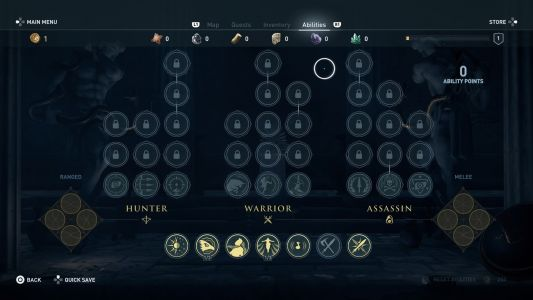 Assassin's Creed Odyssey best skills and abilities for stealth, warriors, and hunters