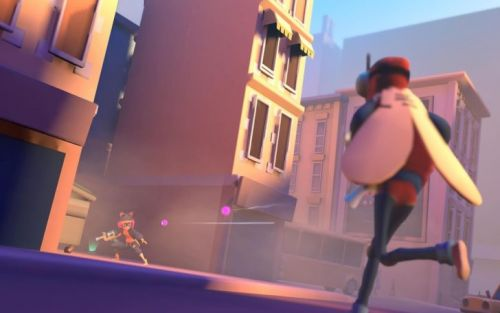 Slightly Heroes is a difficult-to-control shooter for Daydream VR